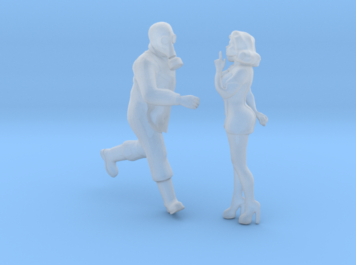 Printle T Couple 1941 - 1/87 - wob 3d printed