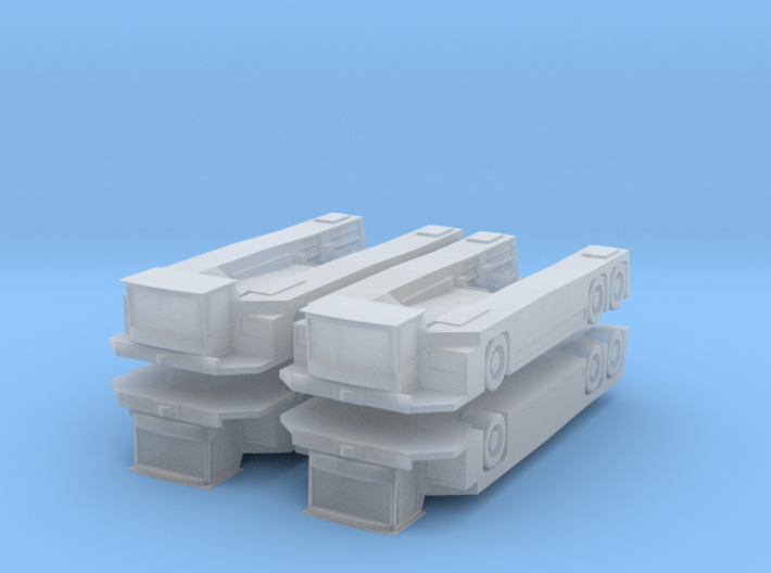 Goldh AST-1 X 1360 (6×6) Tractor (x4) 1/500 3d printed