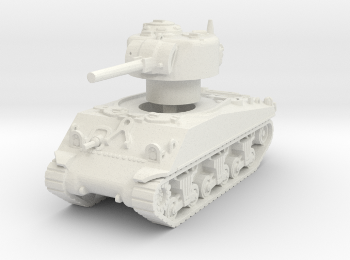 M4A3 Sherman 75mm late 1/100 3d printed
