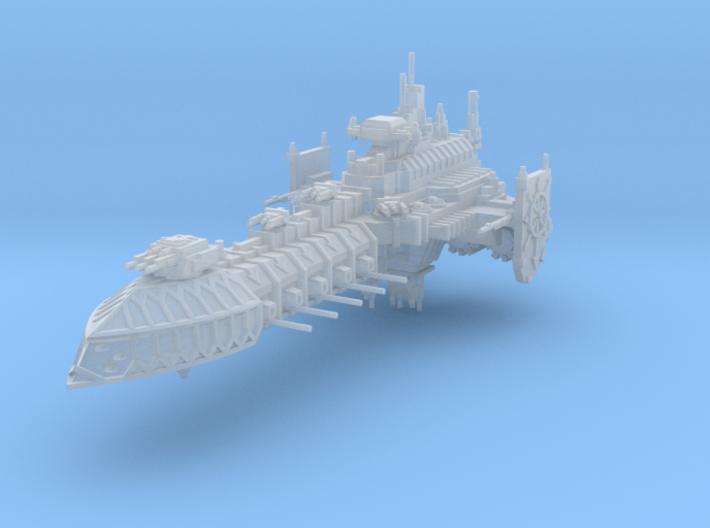 Barcaza de Batalla Corrupta B 3d printed