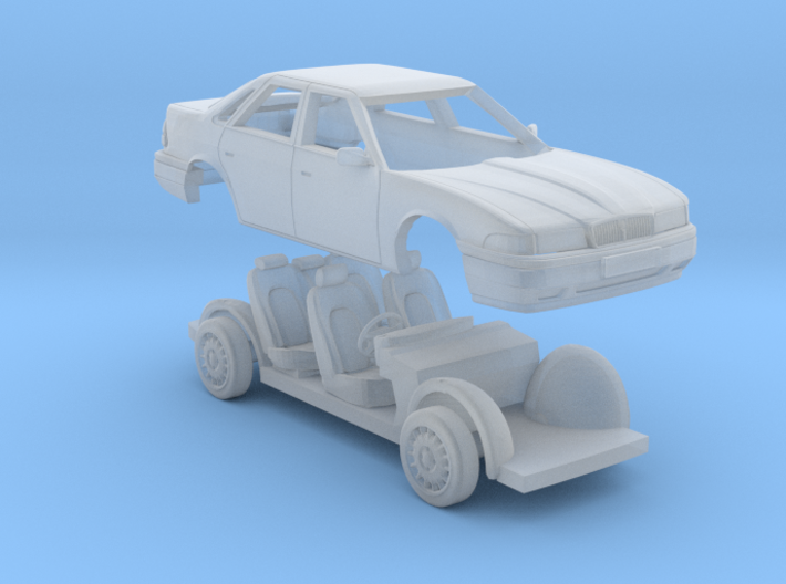 Rover 800 Saloon 1/76 3d printed