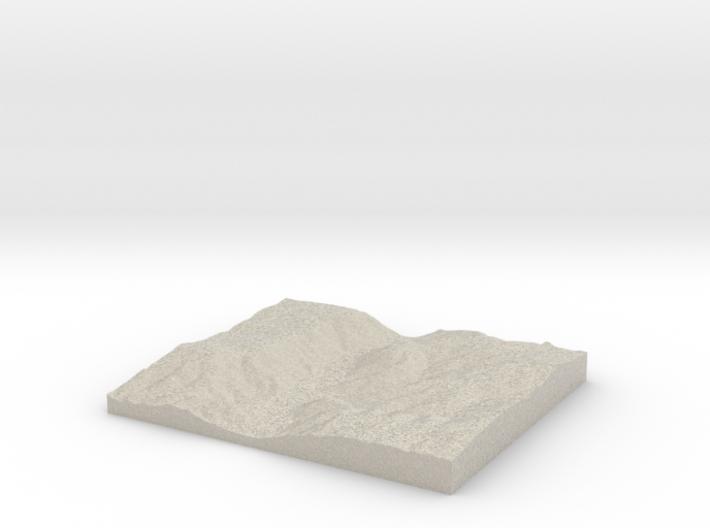 Model of Mesa de la Punta 3d printed