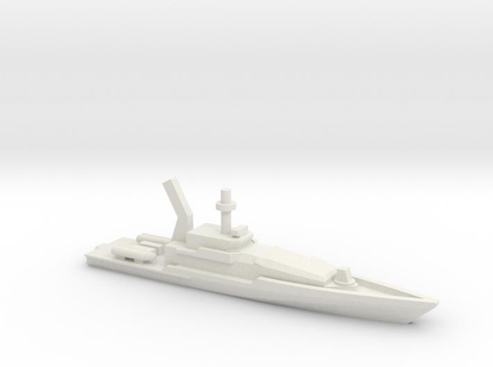 Armidale-class Patrol Boat, 1/1800 3d printed