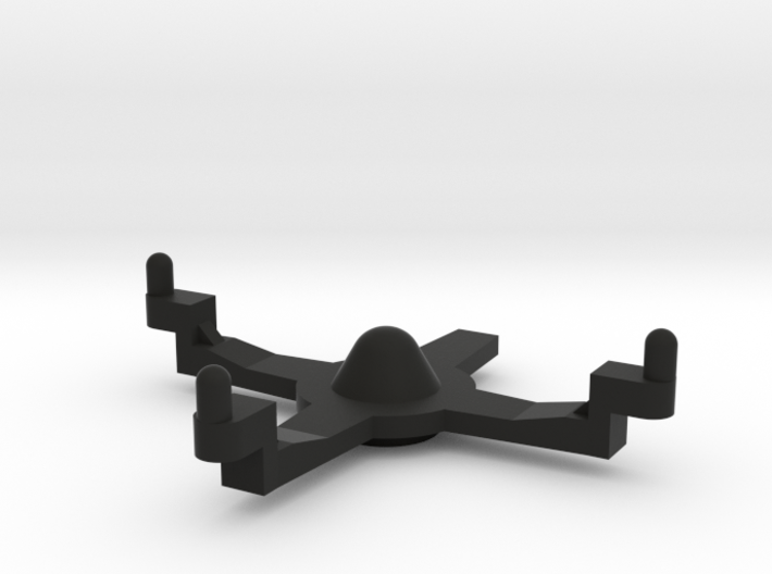 Dual Shock D-pad cross support 3d printed