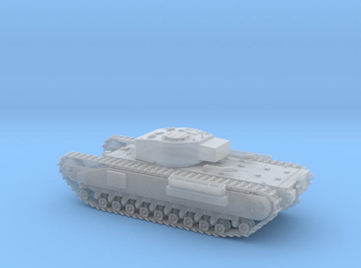 1/87 Scale Churchill 3d printed