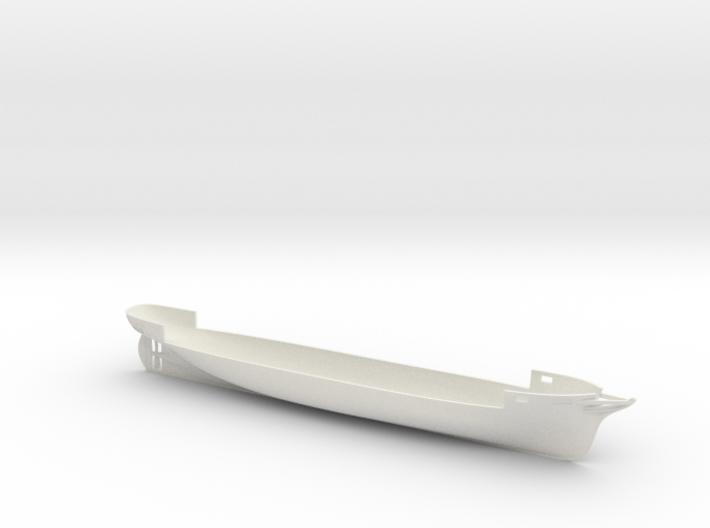 1/350 CSS Alabama Full Hull 3d printed
