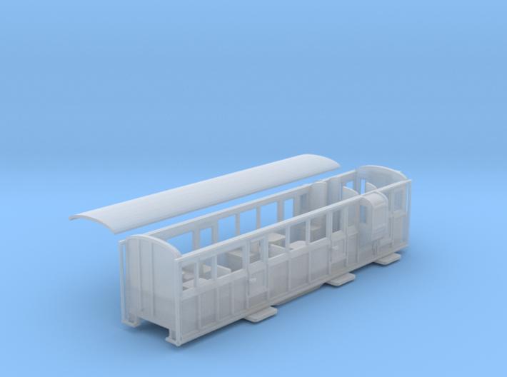 Ffestiniog Rly 3rd/brake coach NO.12 3d printed