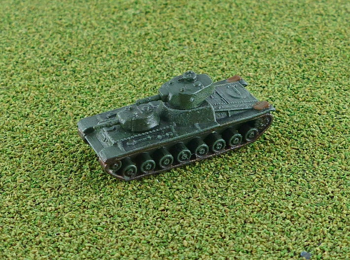 Sovjet T-100 Heavy Tank 1/285 6mm 3d printed