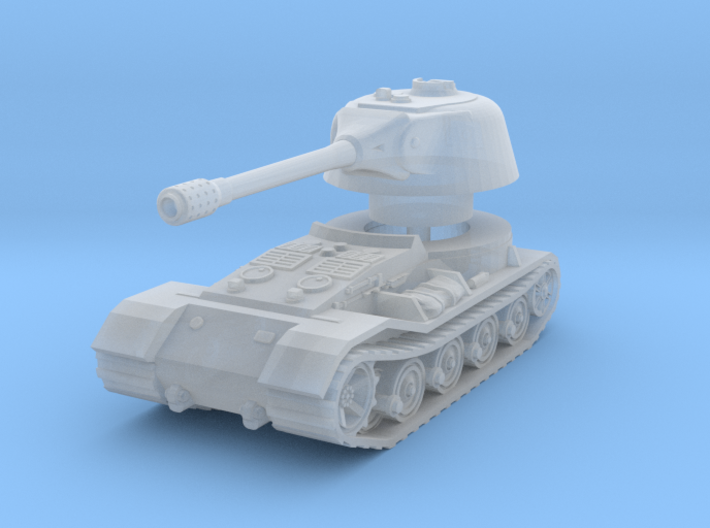 VK.7201 (K) Tank 1/200 3d printed