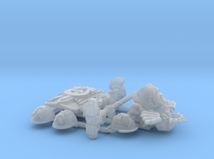 Character Kit: Captain Barticus 3d printed