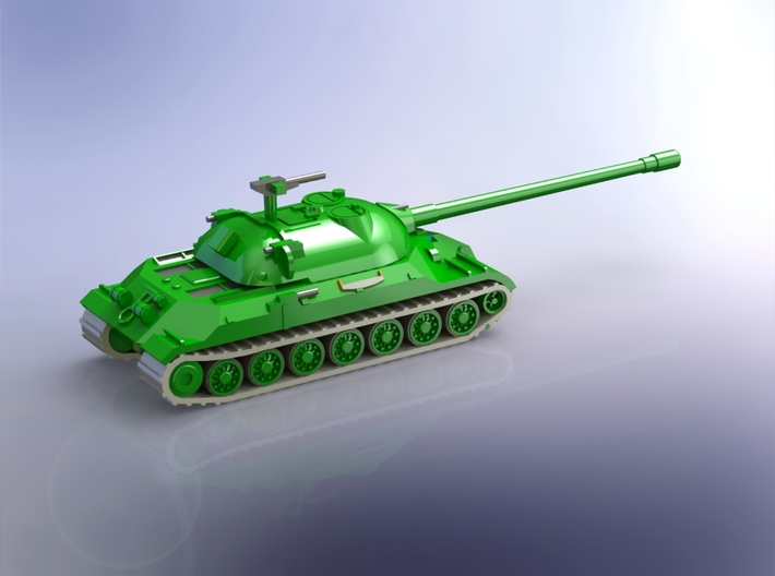 Russian IS-7 Heavy Tank 1/160 3d printed