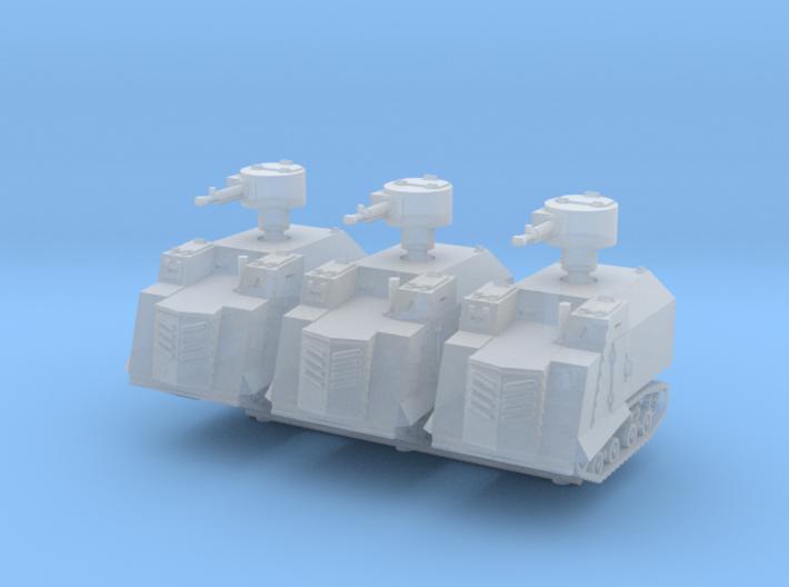 NI Odessa Type 2 Tank (x3) 1/285 3d printed