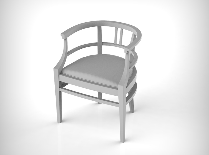 Chair 15. 1:12 Scale 3d printed