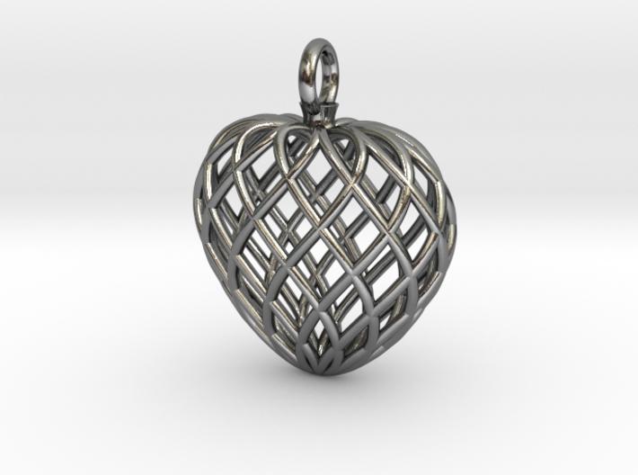 Heart Lattice V2 3d printed