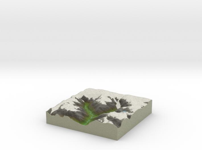 Terrafab generated model Thu Aug 07 2014 09:02:26 3d printed