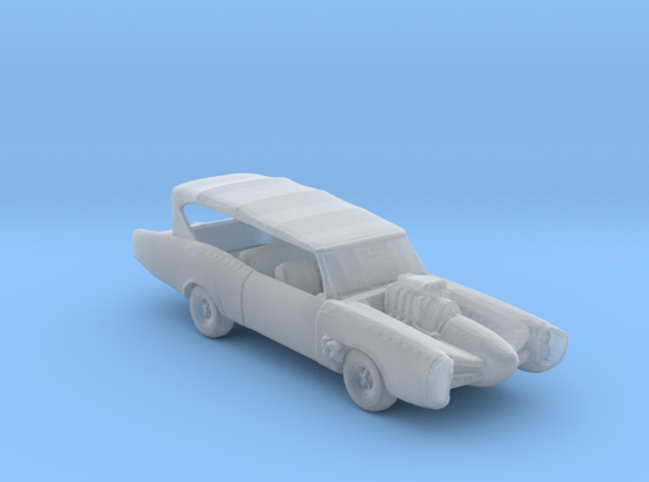 Monkees Mobile 1:160 scale 3d printed