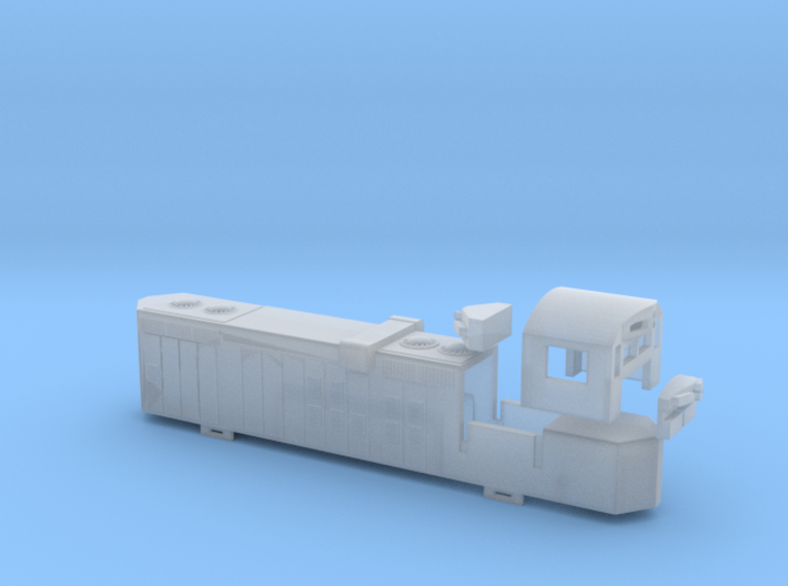 Z Scale GP 10 body conversion for AZL GP9 engine 3d printed