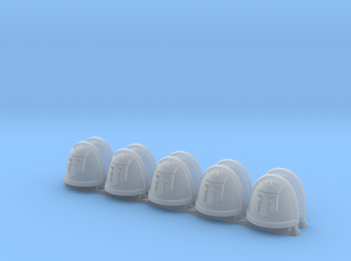 Strategicum ptrn. S. Pads: Knights of the Tower 3d printed
