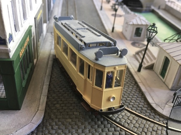 1:87 Nantes tramway (body only) 3d printed