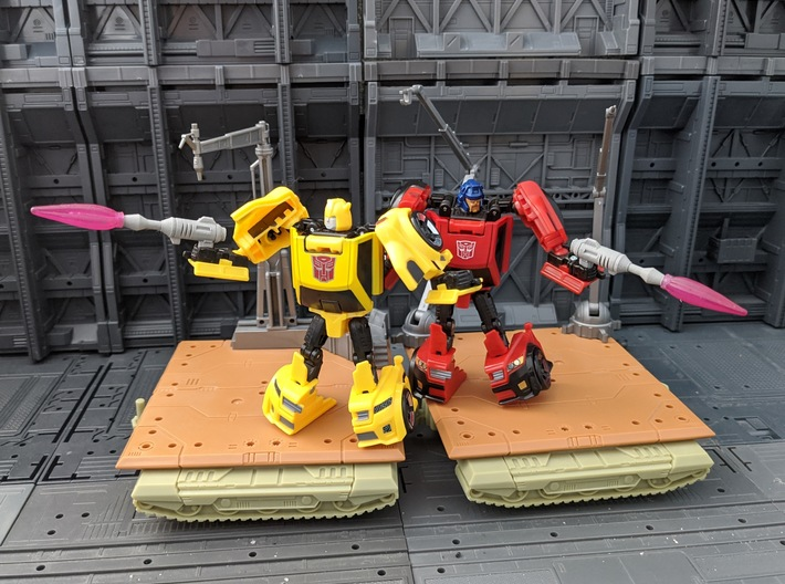 TF TR Legends BumbleBee Blaster 2 Pack 3d printed