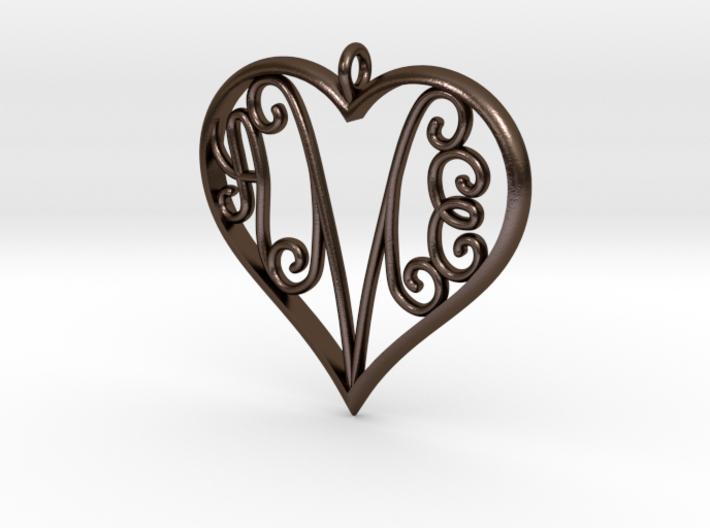 AEM inside Heart 3d printed