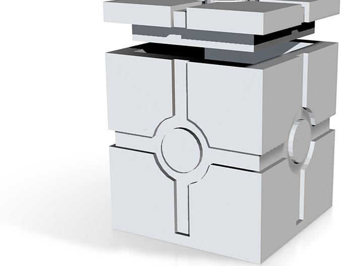 Hollow Iconic Box Squared Moldmaster 3d printed