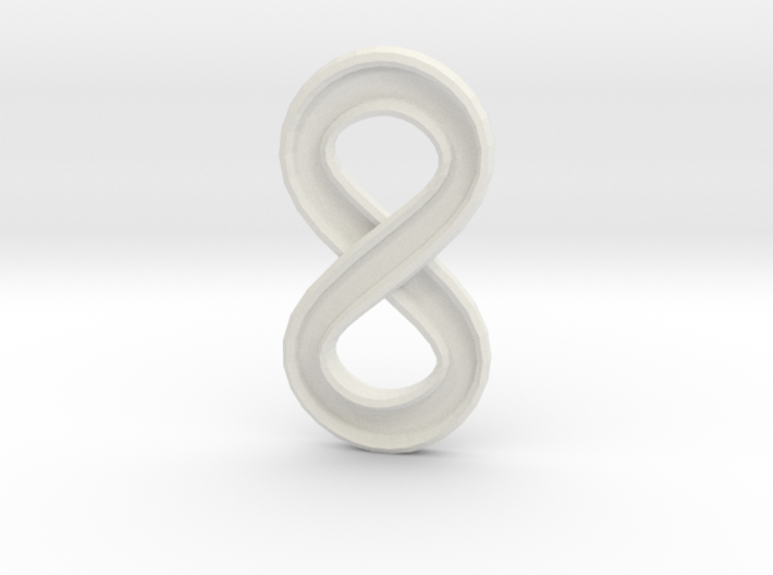 Infinity (small) 3d printed