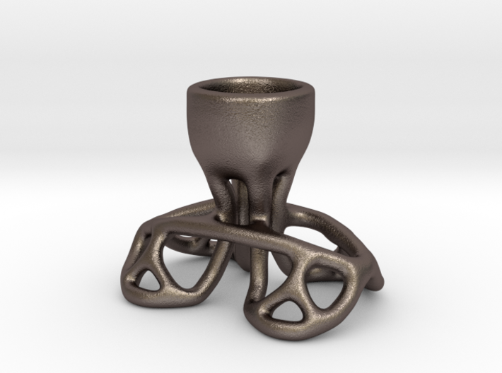 Arc Candle Holder (single) 3d printed