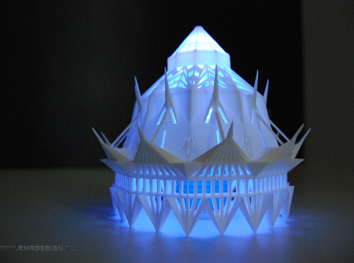 The Magic Light Cathedral  3d printed