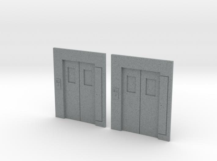 B-03 Lift Entrances - Type 3 (Pair) 3d printed