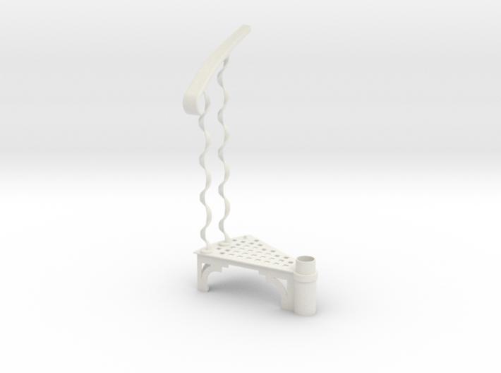 s-6-spiral-stairs-12-step-twist4-modular-base 3d printed