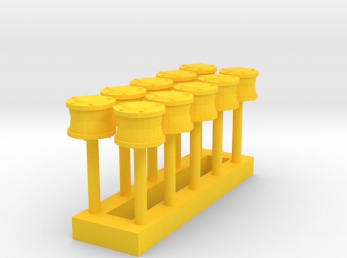 L-02 Mechanical Flange Lubricators (Pack of 10) 3d printed
