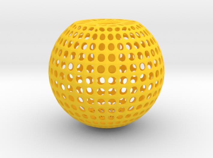 Knob Round Wire 3d printed