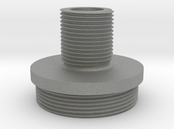 VSR-U threaded cap (14mm-) 3d printed