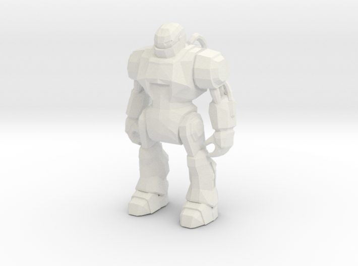 Monster Evil Robot 1-87 Scale 3d printed