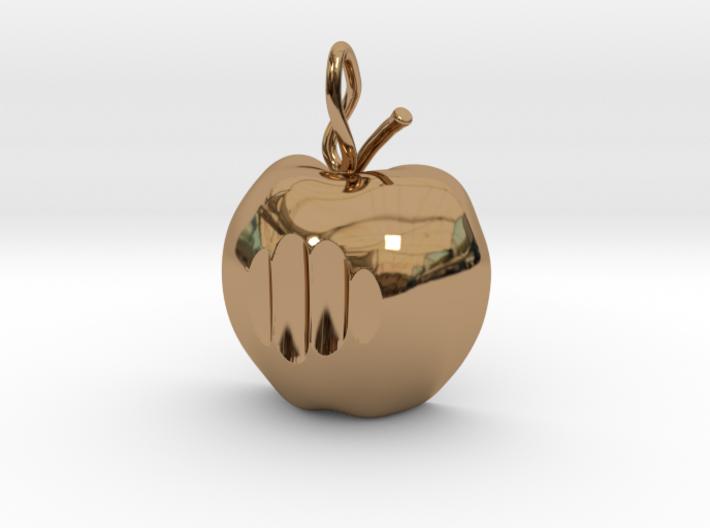 Mela pendant (cm 2) 3d printed