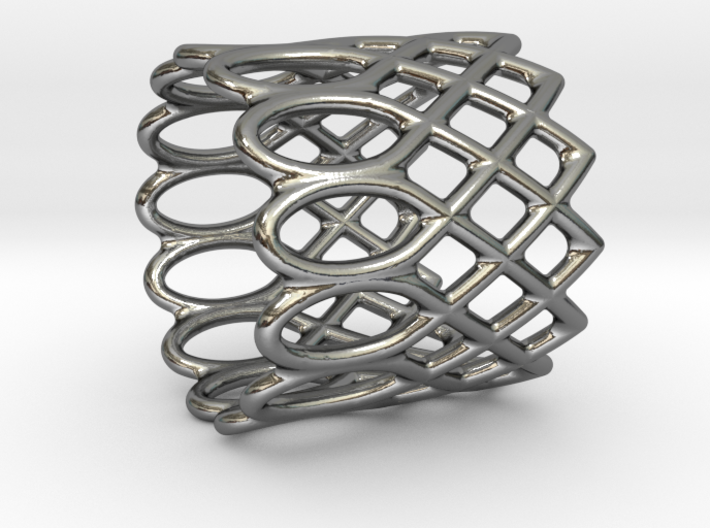 LACE ring 3d printed