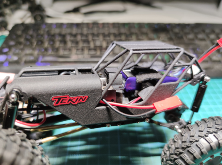 Battery pack tray for scx24 fat girl  3d printed