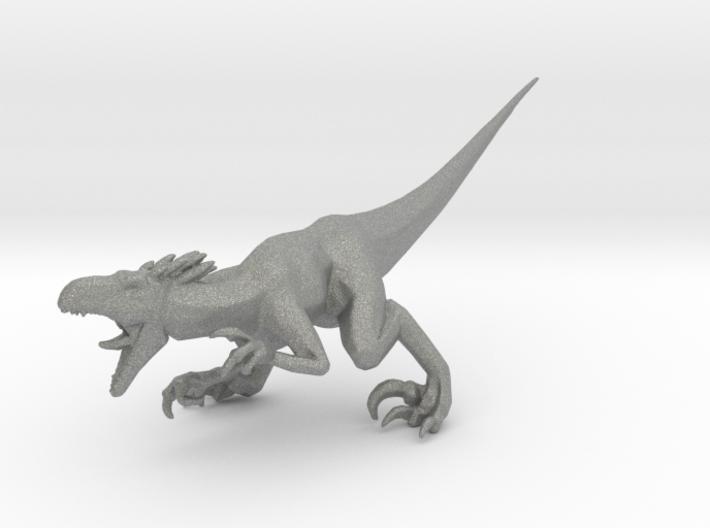 Turok Raptor dinosaur miniature fantasy games rpg 3d printed