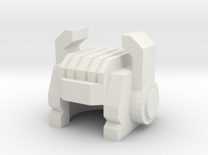 Robohelmet: Pinchy Principal 3d printed