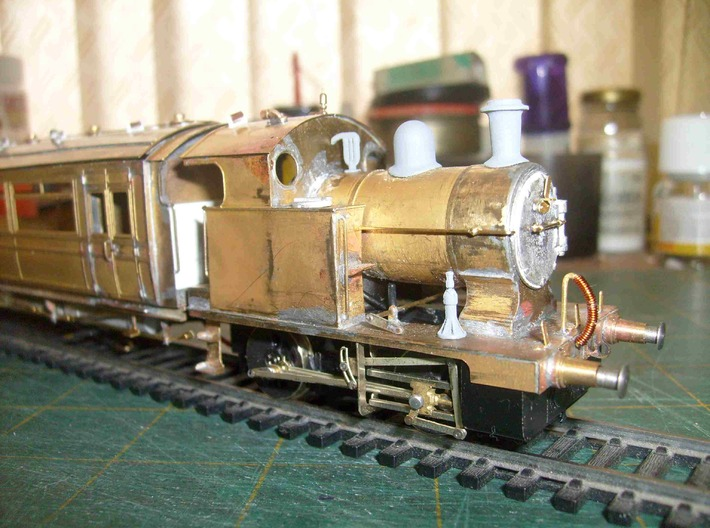 12 L&Y Locomotive Jacks 4mm scale 3d printed As fitted