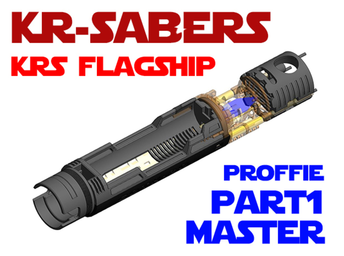 KRS Flagship - Master Chassis Part1 Proffie 3d printed