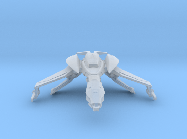 Klingon Ning' tao Class Bird of Prey 3d printed