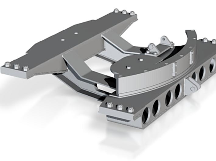 1:16 Jagdtiger gun mount 3d printed