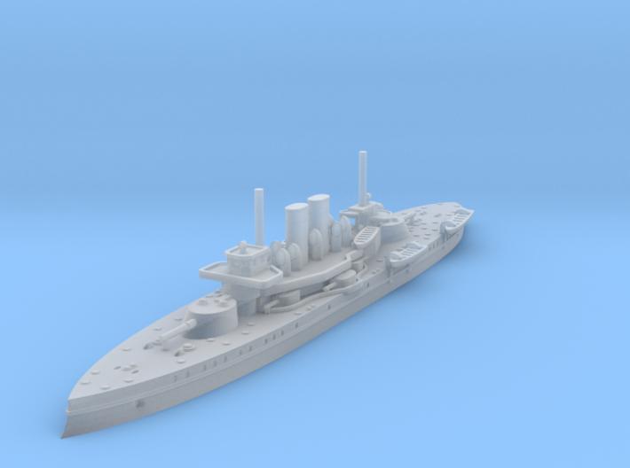 1/1250 Äran Class Coastal Defense Battleship 3d printed