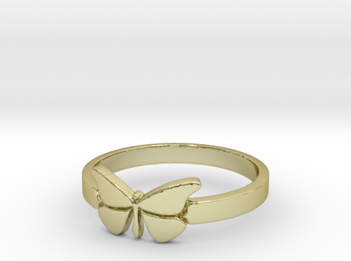 Butterfly (small) Ring Size 9 3d printed
