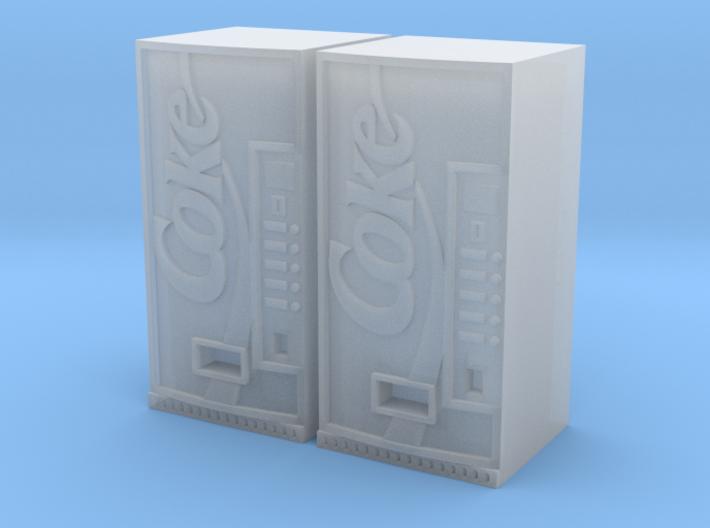 Coke vending machine x2 3d printed