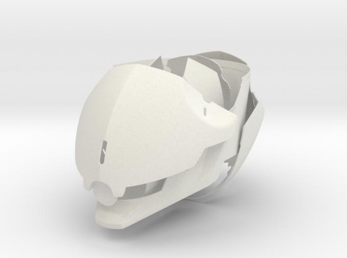 Gray Fox Helmet 3d printed