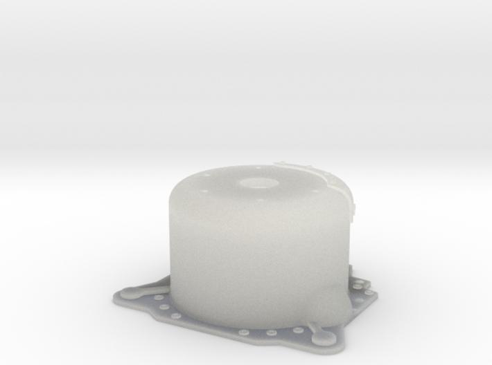 "1/24 Lenco 9.4"" Dp Bellhousing(With Starter Mnt) 3d printed"