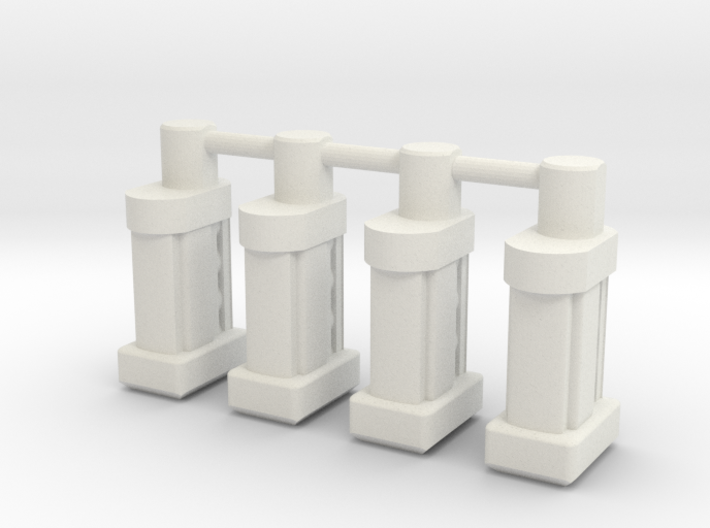 TF Weapon 5mm ammo magazine 4 pack Seige 3d printed